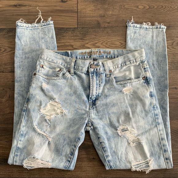 American Eagle Men's Flex Skinny Jeans Acid 31x30